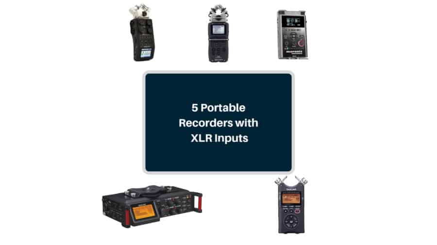 best 5 portable digital audio recorders with xlr inputs the home recordings. Black Bedroom Furniture Sets. Home Design Ideas