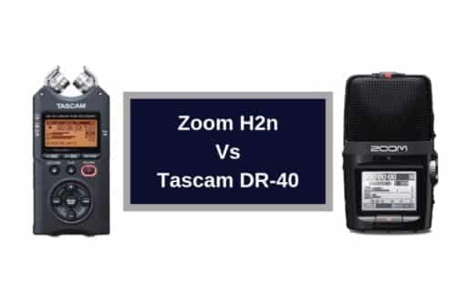 Zoom H2n Vs Tascam DR-40; Read before you buy!
