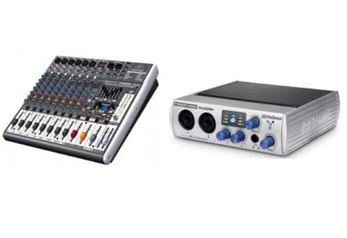Difference between an Audio Interface and a Mixer!