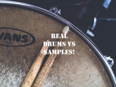 Real Drums Vs Samples; Differences, How and When to Use Them