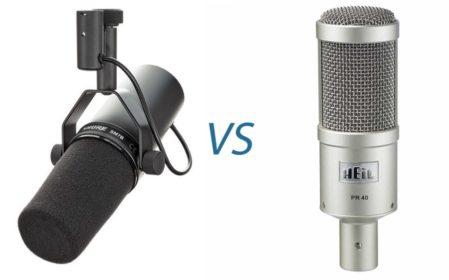 Heil PR40 vs. Shure SM7B Comparison!