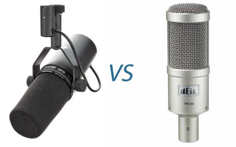 heil pr40 vs shure sm7b comparison the home recordings. Black Bedroom Furniture Sets. Home Design Ideas