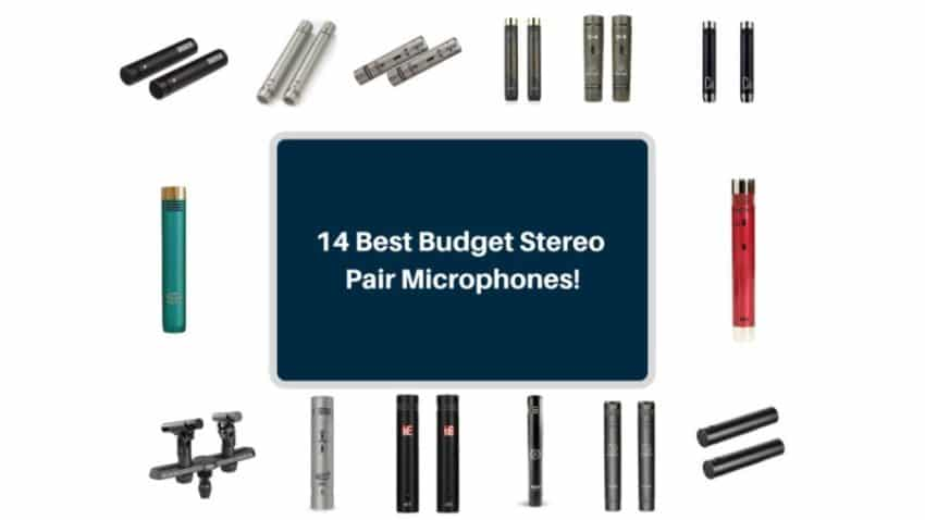 14 Best Budget Stereo Pair Microphones The Home Recordings
