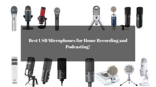Best 15 USB Microphones for Home Recording and Podcasting!