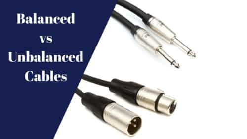 Balanced vs Unbalanced Cables; Here's how they work!
