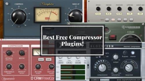 Best 12 Free Compressor VST/AU Plugins that sound Great!