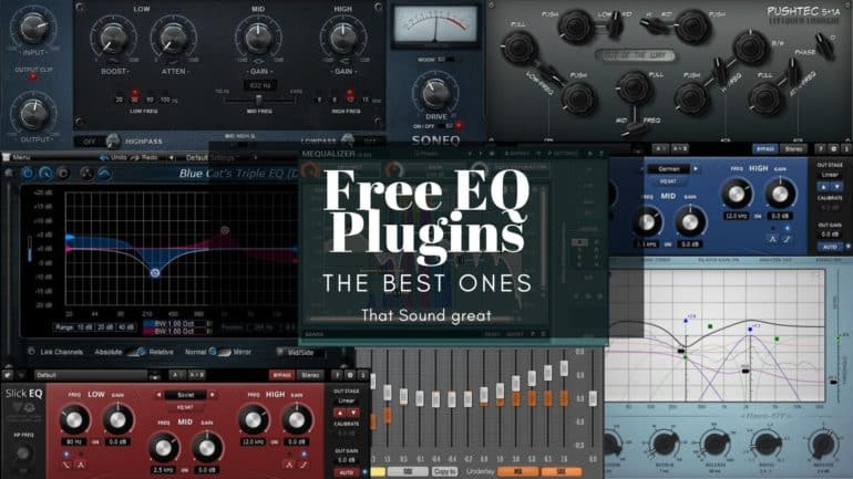 The 13 Best Free Eq Vst Au For Mixing Mastering The Home Recordings