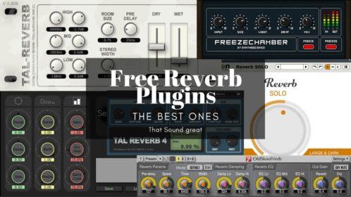 Best 15 Free Reverb VST/AU Plugins that Sound Great!