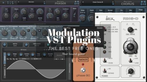 Best 25 FREE Modulation VST/AU Plugins that Sound Great!