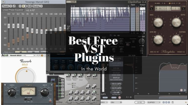 Best Free Vst Plugins 2021 The 225 Best Free VST/AU Plugins in the World! (2020)   The Home