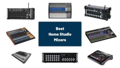 Best 9 Home Studio Mixers of 2020!