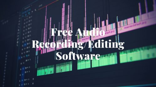 Best 10 Free Audio Recording/Editing Software of 2020!