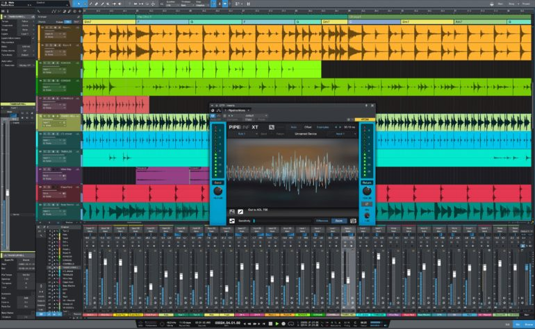 Studio One Prime is a free beginner audio recording/editing software