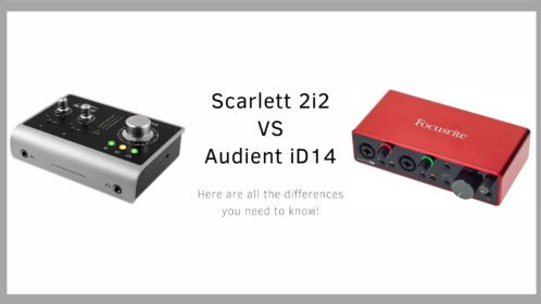 Scarlett 2i2 VS Audient iD14: Read before you buy!
