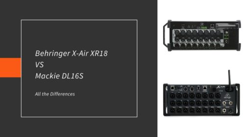 Behringer X-Air XR18 VS Mackie DL16S; Comparison!