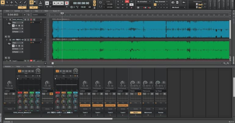 Cakewalk by Bandlab is the best free audio recording/editing software