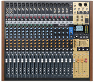 Tascam Model 12, 16 and 24; True Hybrid Mixers!