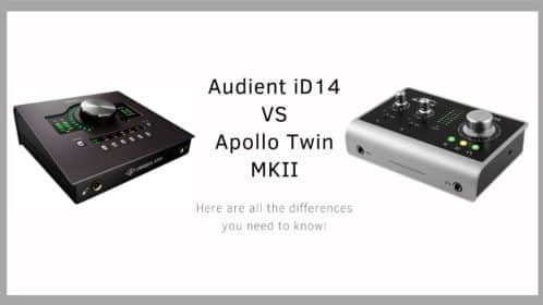 Audient iD14 vs Apollo Twin MKII (Solo, Duo, Quad)