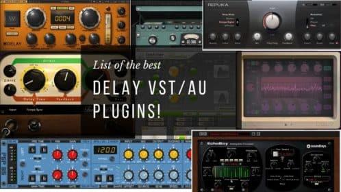Die 13 Besten Delay VST/AU Plugins: Finden Sie sie hier!