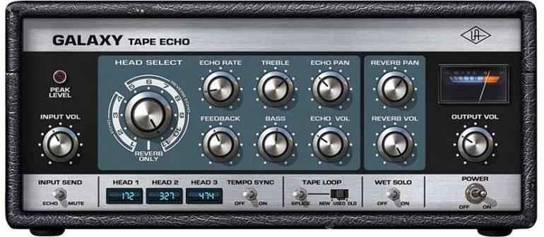 Galaxy Tape Echo delay by Universal Audio