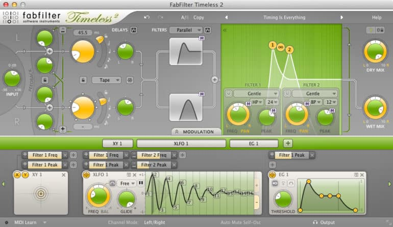 Timeless 2 delay by fabfilter