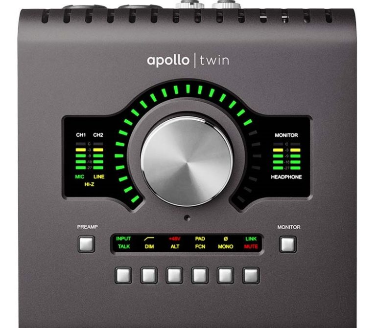 Apollo Twin MKII Audio Interface. One of the best on the market.