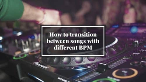 Guide; How to transition between songs with different BPM!