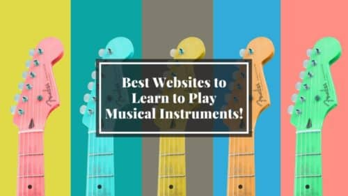 The 62 Best Websites to Learn Musical Instruments!