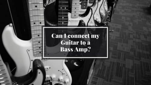 Can I connect my Electric Guitar to a Bass Amp?