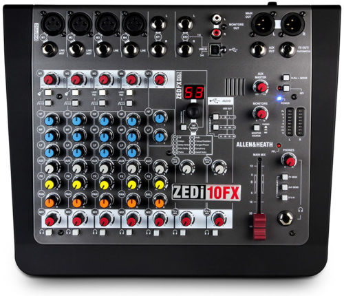 Allen & Heath ZEDi-8, ZEDi-10 and ZEDi-10FX Mixers!