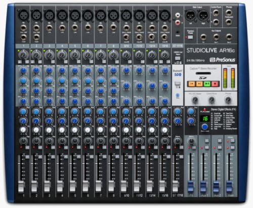 Presonus StudioLive ARc Mixers; Learn more about them!